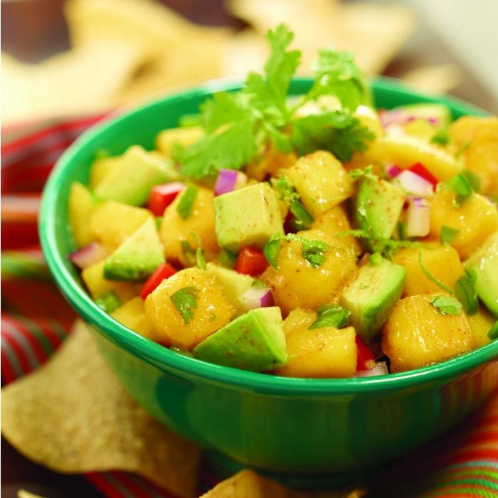 Avocado And Mango Salsa Recipe — Dishmaps