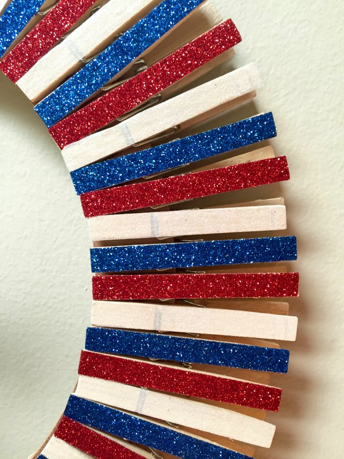 Completed Clothespins