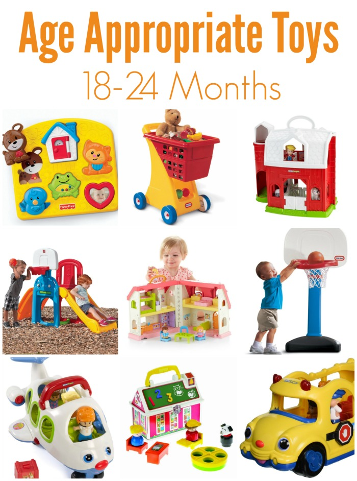 Toys For 18 Months : Developmental toys progress for months of age