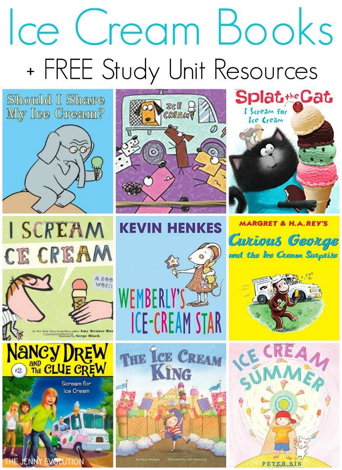 Ice Cream Books for Kids (Ice Cream Unit Study) | Mommy