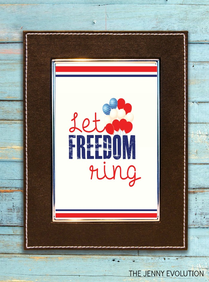 Let Freedom Ring - FREE Patriotic Printable for 4th of July