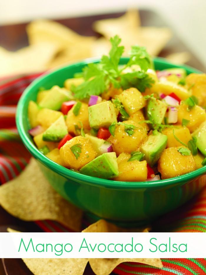 Mango Avocado Salsa Recipe