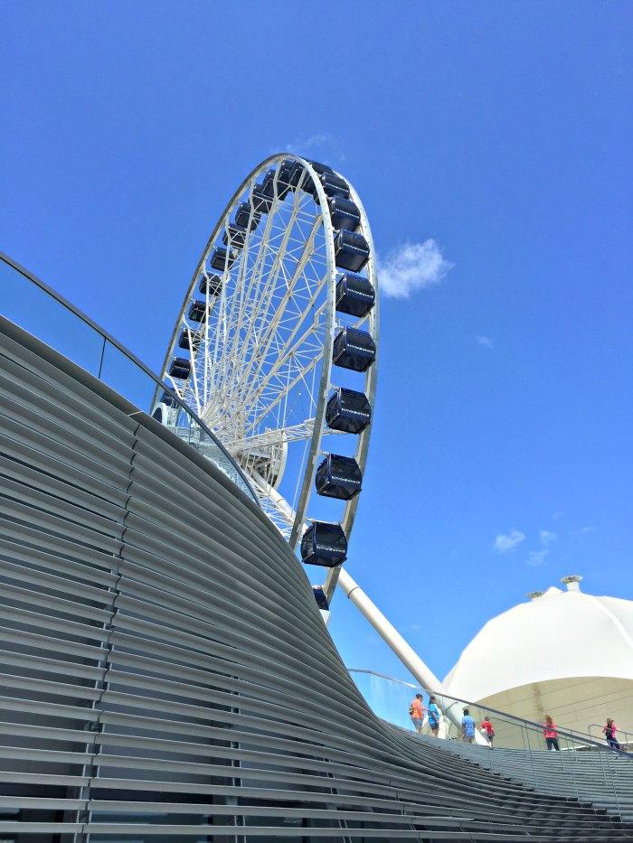Navy Pier Ferris Wheel 1