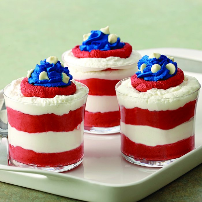 Patriotic Mousse Recipe