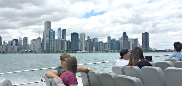 View of Chicago from Seadog