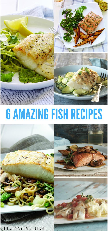 6 Amazing Healthy Fish Recipes