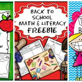 10+ Back to School Freebies!