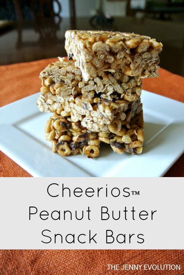 Cheerioes Peanut Butter Snack Bars
