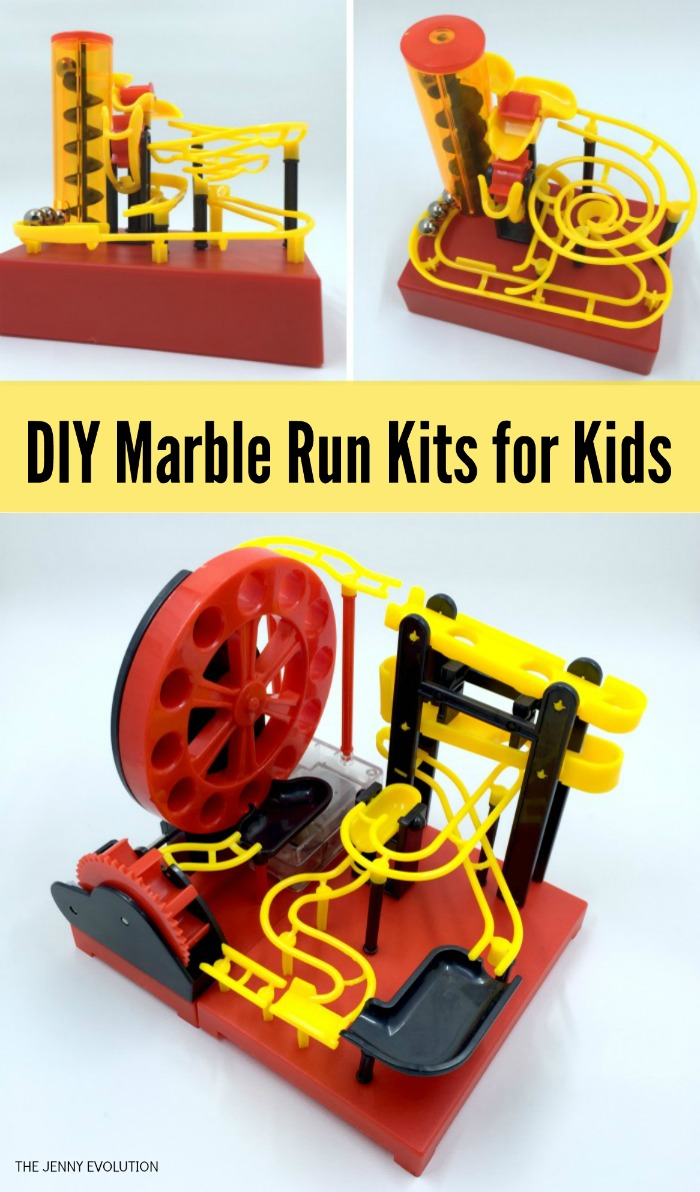 DIY Build Your Own Marble Run Kits for Kids