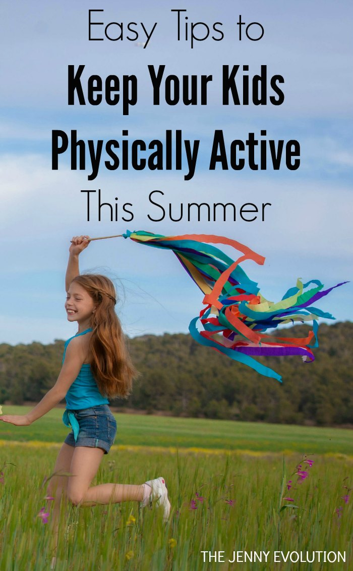 Easy Tips to Keep Your Kids Physically Active This Summer