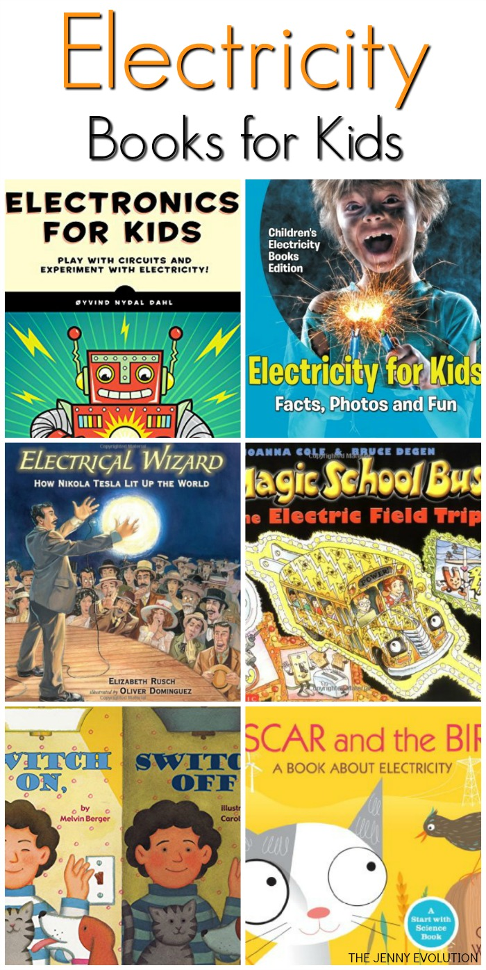 Electricity Books for Kids | Mommy Evolution