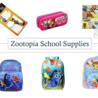 Back to School Zootopia and Finding Dory Supplies