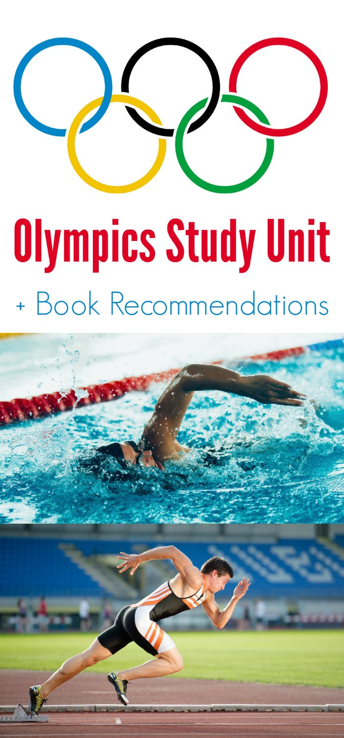 FREE Olympics Study Unit + Children's Book Recommendations