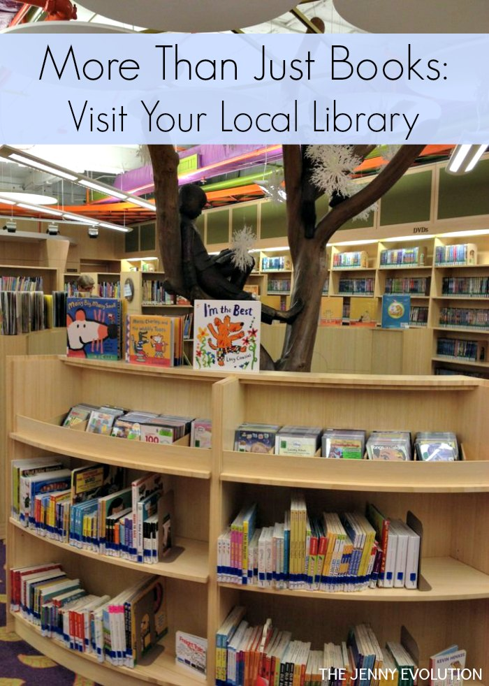 Frugal Kid Activity Visit your local library for more than just books!