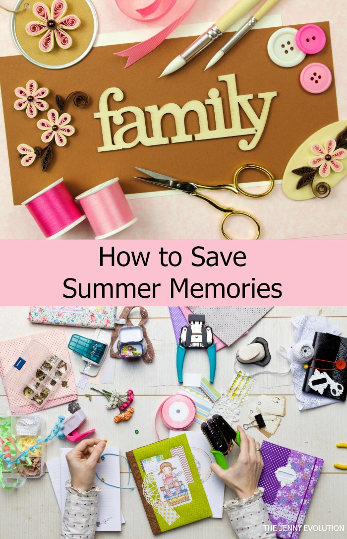How To Save Summer Memories - From Summer Scrapbooks to Memory Boxes and Digital Options