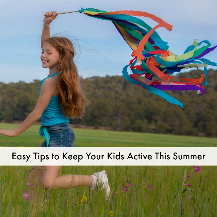 Keep kids active - Square