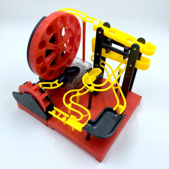 MaBoRun DIY Marble Run Big Wheel Kit