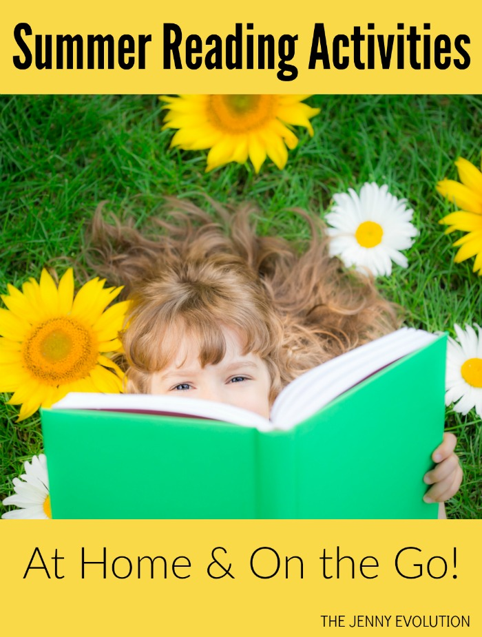 Summer Reading Activities at Home or On the Go!
