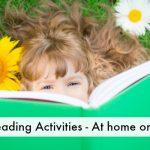 Summer reading activities FB