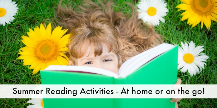 Summer reading activities FB