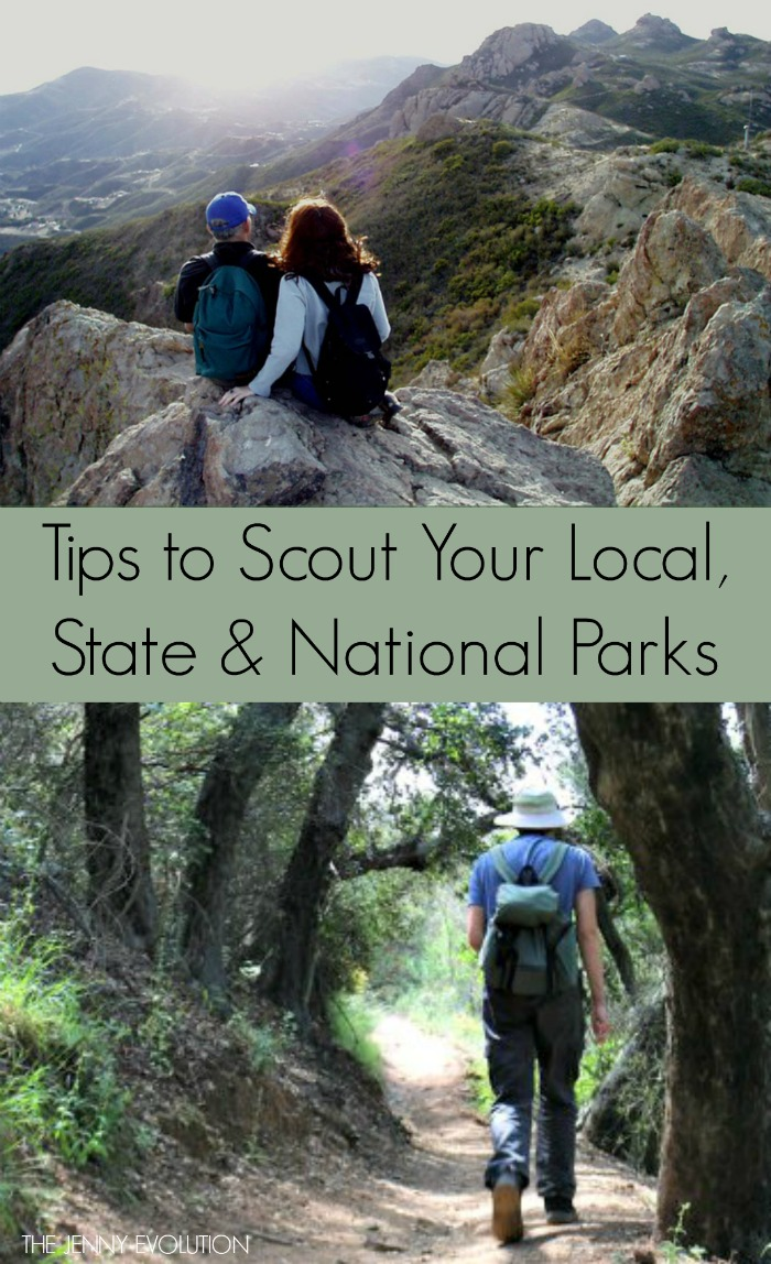 Tips to Scout Your Local Parks, State Parks and National Parks