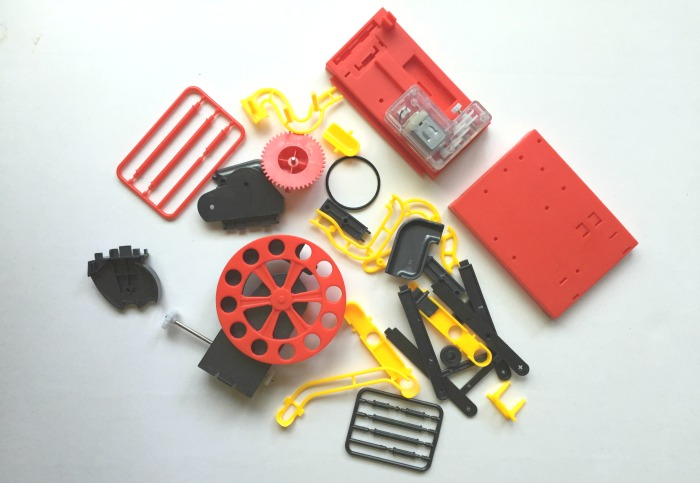 maborun big wheel kit pieces