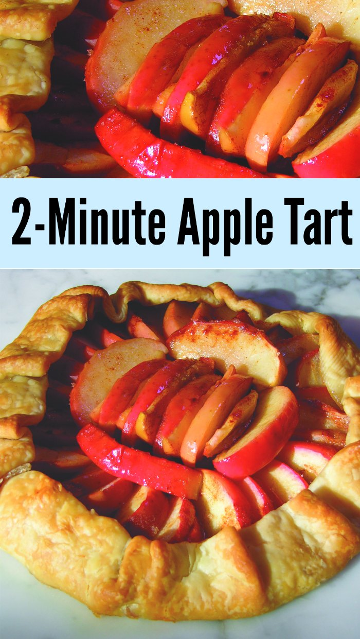 Two-Minute Rustic Apple Tart Recipe