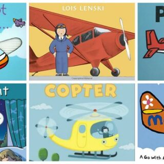 Airplane Board Books for Toddlers