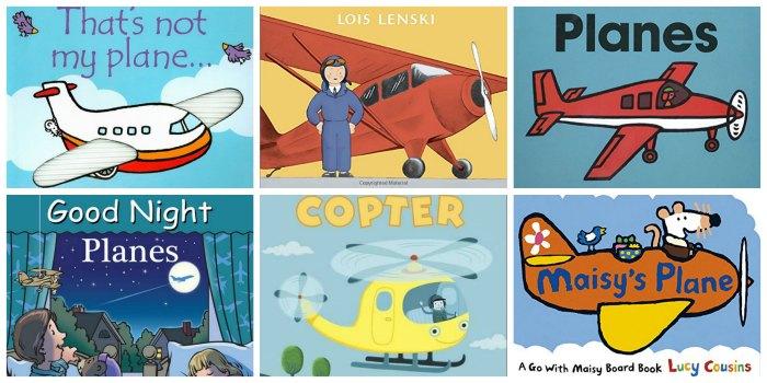 airplane board books
