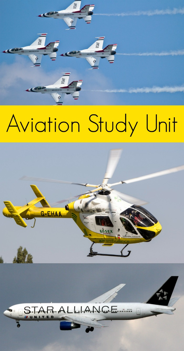 Aviation Study Unit for Kids + Board Book Recommendations for Preschool