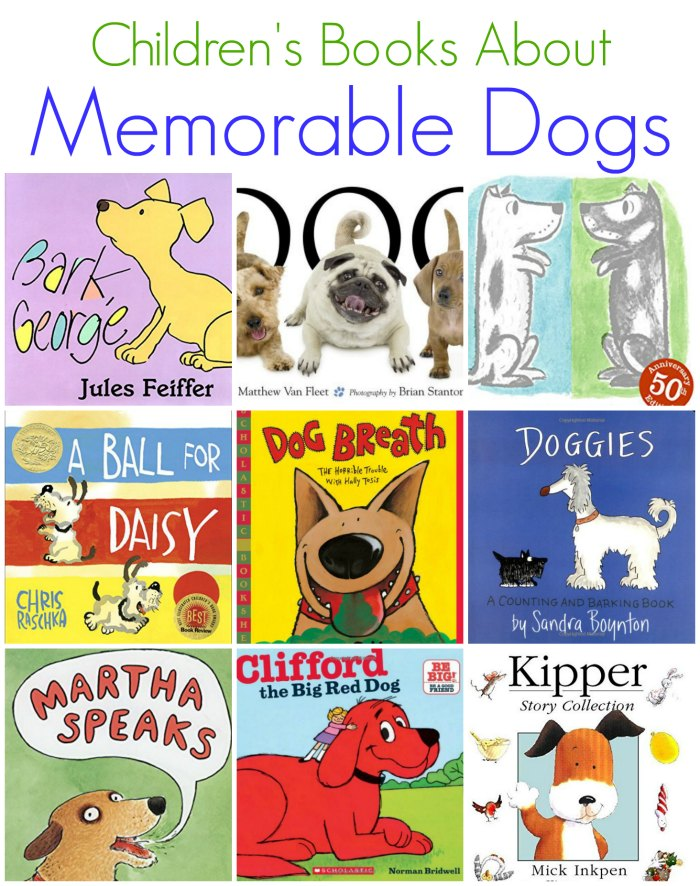 Children's Books about Memorable Dogs