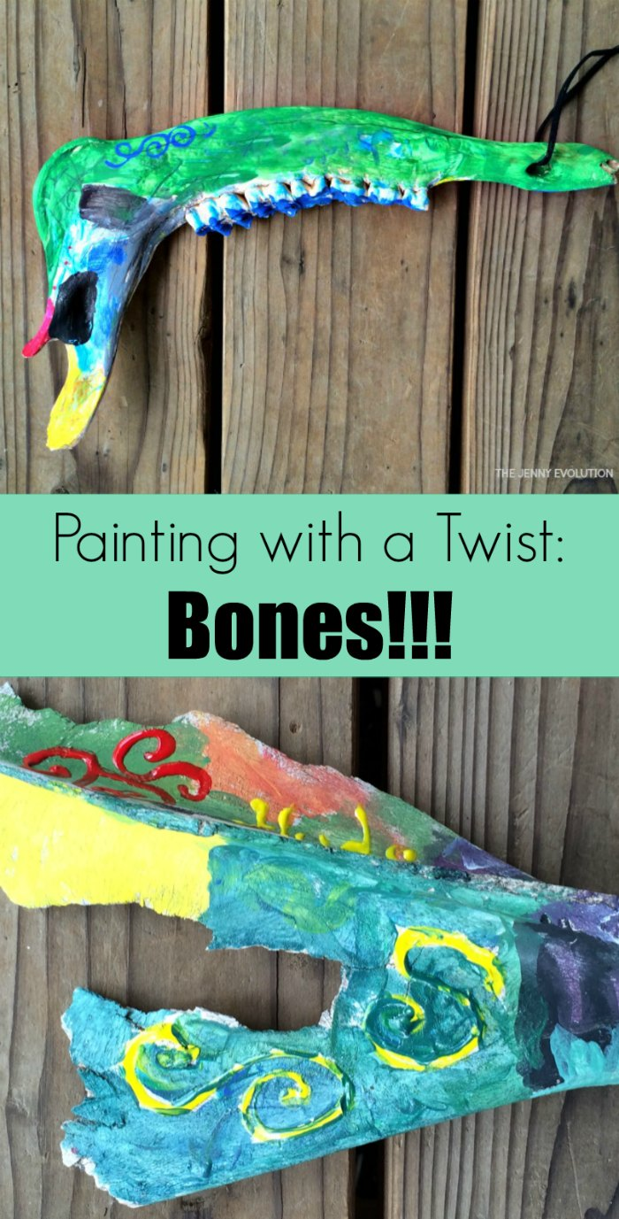 paint bones painting with a twist the jenny evolution