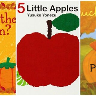 Children's Board Books about Apples and Pumpkins