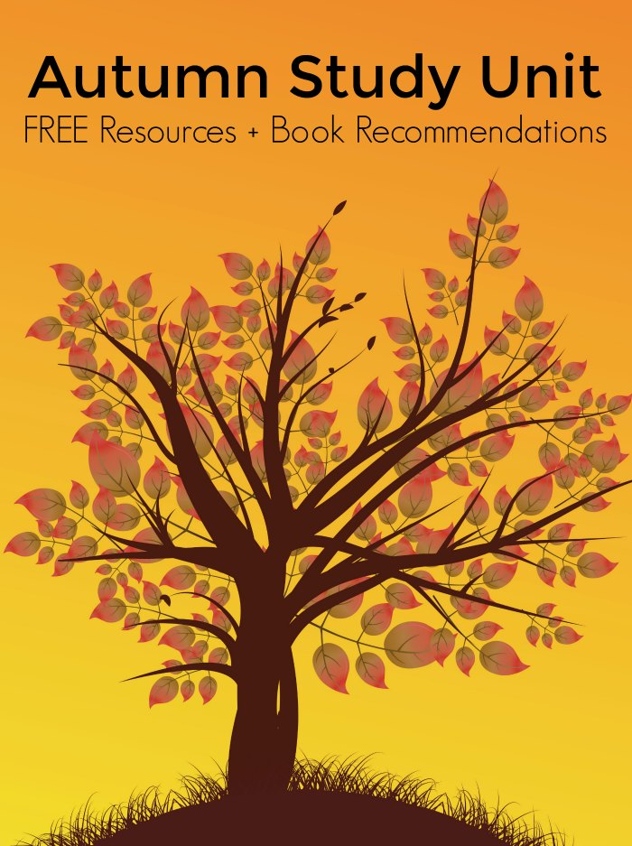 FREE Fall Autumn Study Unit Resources + Fall Board Book Recommendations
