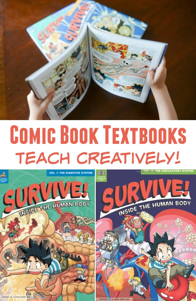 Comic Book Textbooks Teach Creatively! These Manga science books will change your how children learn.