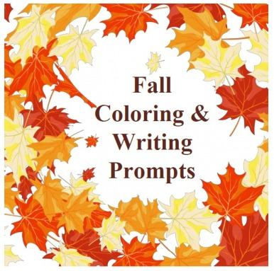 FREE Fall Coloring & Writing Prompts