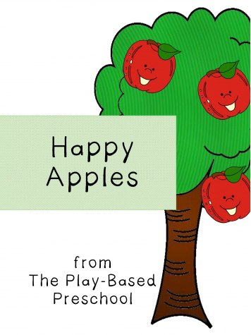 Five Happy Apples Poem FREE Printable