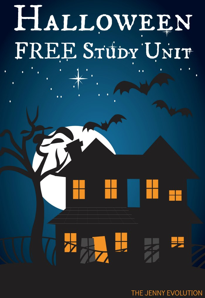 Halloween FREE Study Unit + Halloween Board Book Recommendations