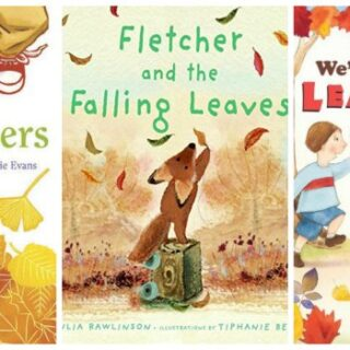 Books about Fall Leaves for Children (Leaves Unit Study)