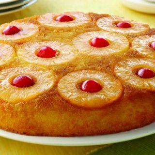 Easy Pineapple Upside Down Cake Recipe