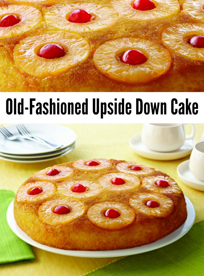 Old-Fashioned Easy Pineapple Upside Down Cake Recipe
