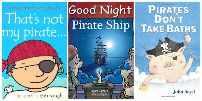 pirate board books