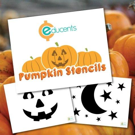 FREE Pumpkin Carving Stencils Printables