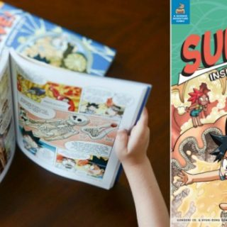 Comic Book Textbooks Teach Science Creatively
