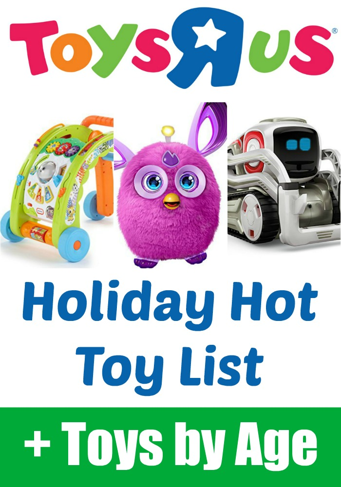 Toys R Us Holiday Hot Toy List... Plus Toys by Age to make shopping easy!