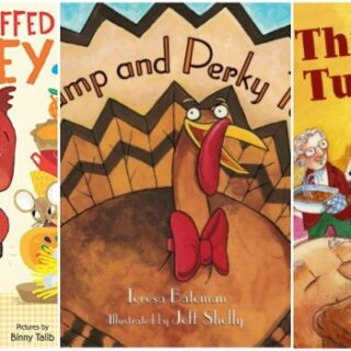 Picture Books about Turkeys for Kids (+ Thanksgiving Study Unit)