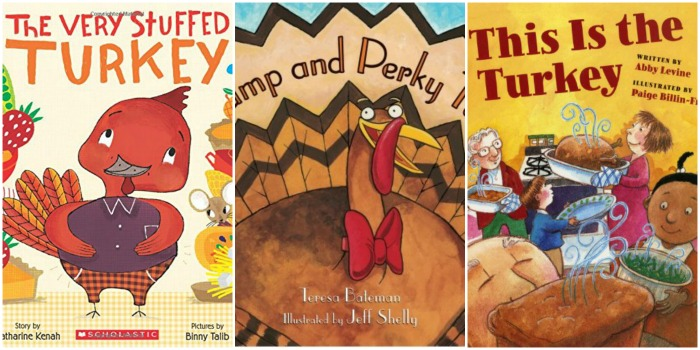 picture books about turkeys for children