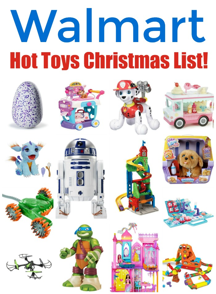 Walmart Toys For Christmas : Walmart s annual hot toy list  mommy evolution
