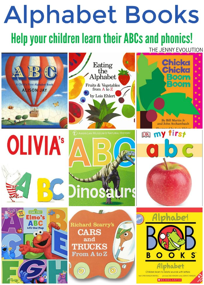ABC Alphabet Books for Kids | The Jenny Evolution
