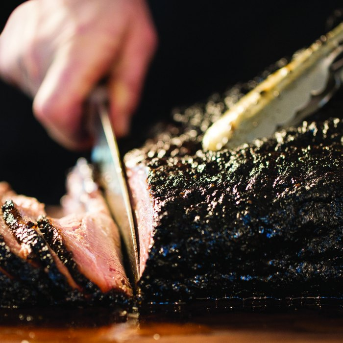 Ancho Chile Rubbed Smoked Beef Brisket